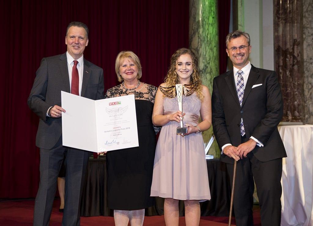 Hermes Nachwuchspreis ging an Michaela Dužić aus der Steiermark