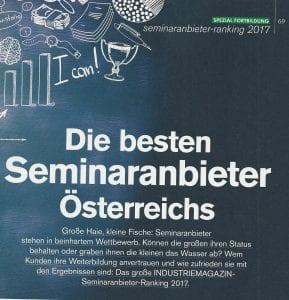 Die besten Seminaranbieter Österreichs
