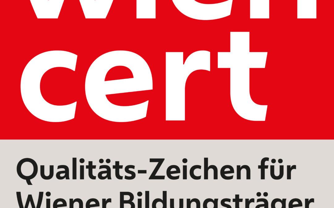 QuintLog wurde wieder von WienCert zertifiziert